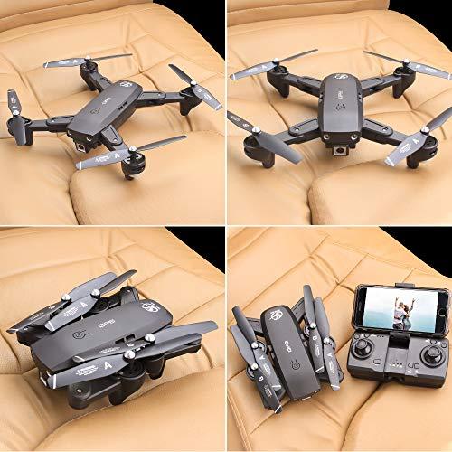 Mobiliarbus RC Quadcopter CSJ S166GPS Drone con Telecamera 1080P Seguimi Ritorno Automatico Home...