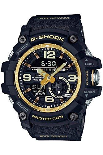 Casio Herren Multi Zifferblatt Quarz Uhr mit Harz Armband GG-1000GB-1AER