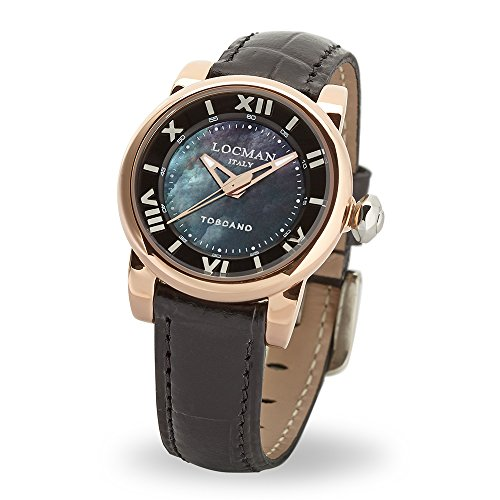 Orologio TOSCANO SOLO TEMPO QUARZO ACCIAIO Locman 0595V13-R0MKPSK