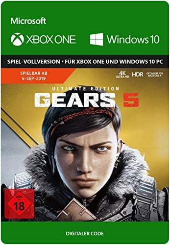 Gears 5 – Ultimate Edition - Pre-load | Xbox One/ Windows 10 Download Code