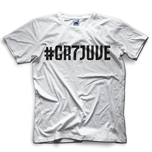 low priced d8443 b90b3 Mokaba T-Shirt # CR7 Cristiano Ronaldo Juventus Bomber Calcio - Vari Colori  - FR Uomo - FACESHOPPING