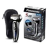 Panasonic ES-LV65-S803 - Afeitadora eléctrica de láminas premium Wet & Dry con 5 cuchillas (motor lineal de 14.000 oscilaciones por minuto, cabezal Multi- flex, MADE IN JAPAN)- NO IRRITA LA PIEL
