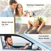 Arbily-Auriculares-Inalmbricos-Bluetooth-Auriculares-Inalmbricos-con-Mic-Auriculares-Bluetooth-50-con-Caja-de-Carga-para-IOS-Android-Control-Tctil-Fcil-de-Emparejar-20h-de-Reproduccin-Blanco
