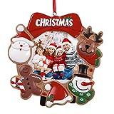 Toyvian Marcos de Fotos Navidad de Resina para la Oficina en casa decoración de Mesa de Escritorio