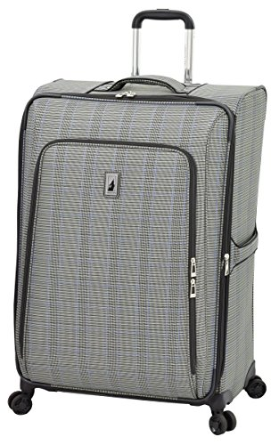 "Knightsbridge II 29"" Expandable Spinner, Grey Sapphire Plaid"