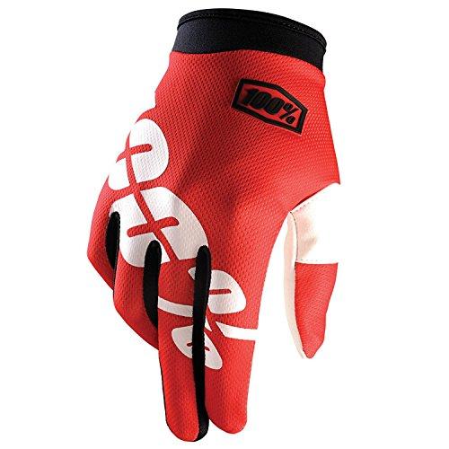 100% Prozent iTrack Handschuhe Clarino MTB DH MX Motocross Enduro Offroad Quad, HU-GLO-0002, Farbe...