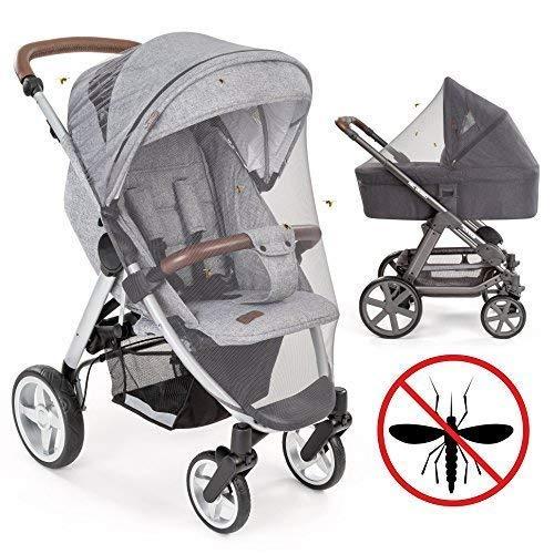 Zanzariera universale per passeggino, carrozzina, culla e lettino da viaggio. Protezione ideale da...