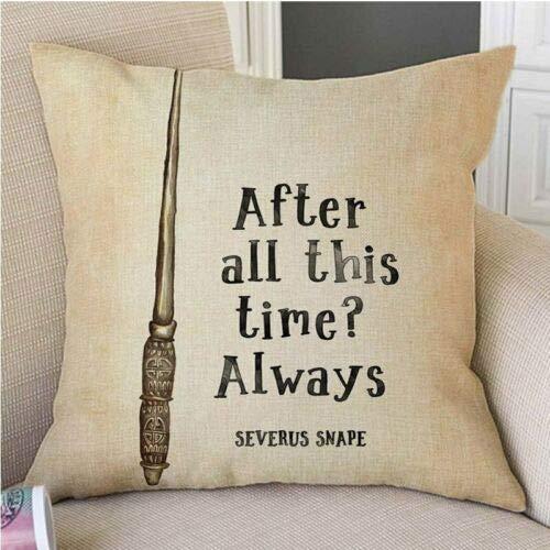 Utopiashi Tipico di Harry Potter cita la Carta Stile Vintage Pillow Cuscino