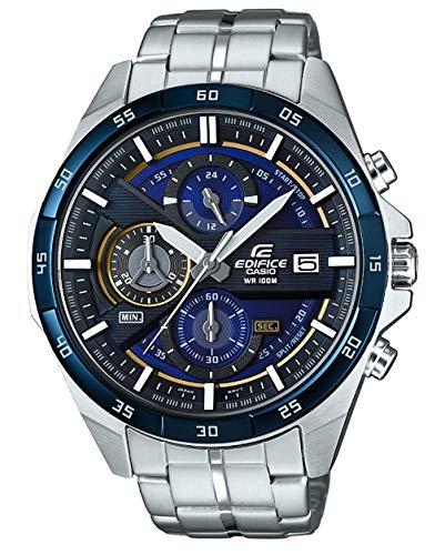 Casio Orologio Cronografo Quarzo da Uomo con Cinturino in Acciaio Inox EFR-556DB-2AVUEF