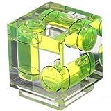 Polaroid Dreiachsen Doppelblasen Wasserwaage für Canon & Nikon Digitale- und Filmkameras