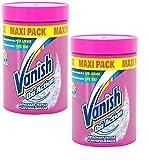 Vanish Oxi Action Detachant en Poudre 1 kg - Lot de 2