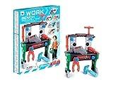 2 in 1 36 piezas infantil Herramienta Banca WORKSHOP herramientas parque infantil coche mecánico Juguete Regalo