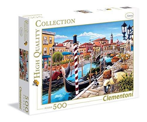 Clementoni 35026 - Puzzle Illustrazione, Venezia, 500 Pezzi, Multicolore