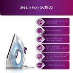 Philips GC1905 1440-Watt Steam Iron with Spray (Blue) 20