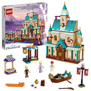 LEGO41167DisneyPrincessFrozenIIAldeadelCastillodeArendelle,JuguetedeConstruccióncondeElsa,AnnayKristoff