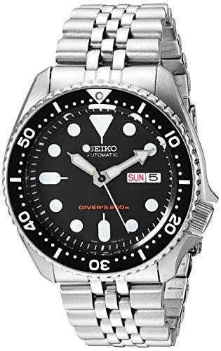 Seiko Orologio Analogico Automatico Uomo con Cinturino in Acciaio Inox SKX007K2