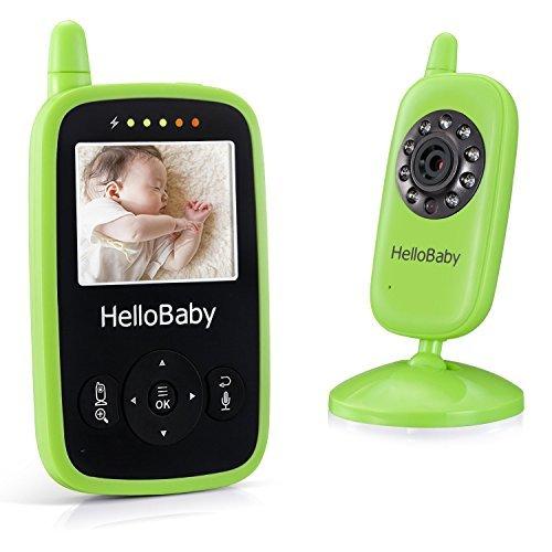 Hello Baby Portable Video Baby Monitor Night Vision Smart Camera with Temperature Monitors