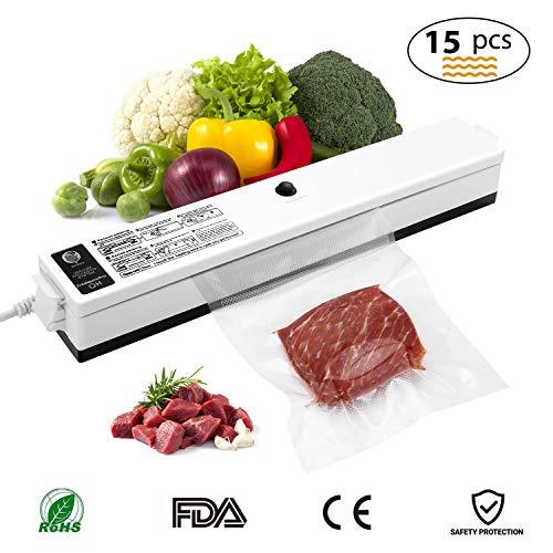 Macchina Sottovuoto per Alimenti, iLmyh Sigillatore Automatico Sottovuoto per Alimenti Freschi Sia...