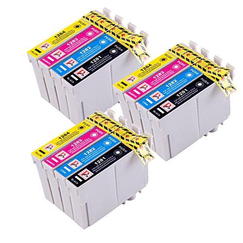 PerfectPrint - Cartucce compatibili di ricambio, per Epson Stylus S22, SX-125, 130, 420W, 425W,...