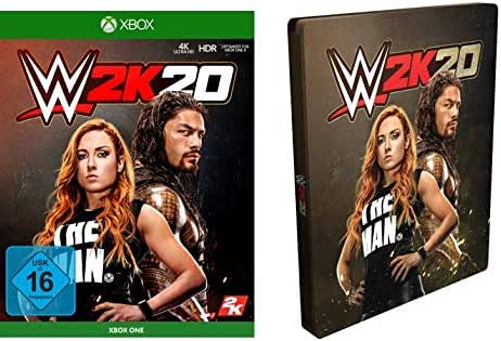 NBA 2K20 Standard Edition inkl. Steelbook (exkl. bei Amazon.de) - [Xbox One]