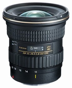 Tokina AT-X 11-20mm PRO DX F2.8 Canon - Objetivo para Canon (distancia focal 11-20 mm, apertura f/2.8, diámetro filtro: 82 mm), negro