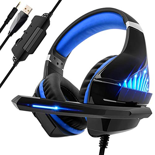 Beexcellent Gaming Headset per PS4 PC Xbox One 8fecd2ed0426