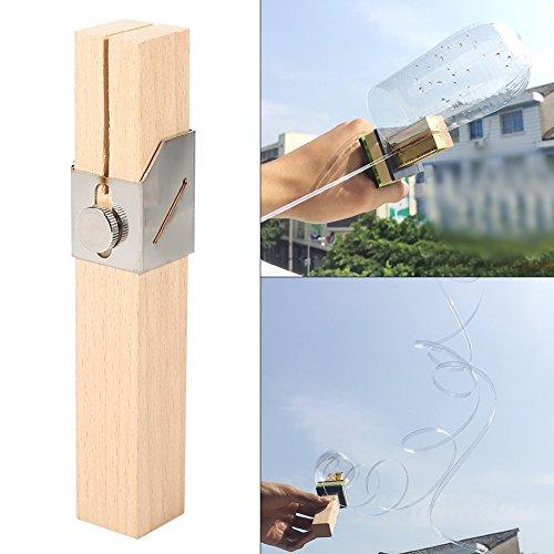 Cortador de botellas de plástico creativo para exteriores, portátil, herramientas de cuerda para bricolaje, herramientas de mano, cuchillo para proteger el medio ambiente