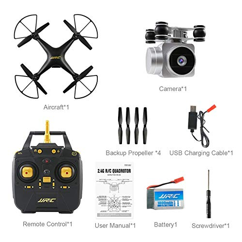 JJRC H68 Quadcopter Helicopter Real-Time Transmit FPV 200W Camera Altitude Hold Six-Axis 4CH WiFi...