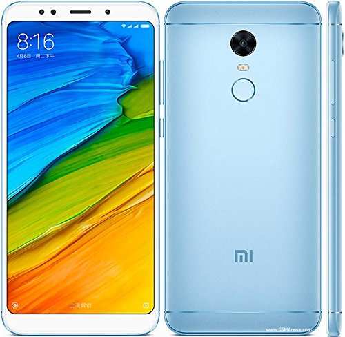 Xiaomi Redmi 5 Plus Smartphone Portable débloqué LTE (Ecran: 5,99 Pouces - 32 Go - Nano-SIM - Android) Noir