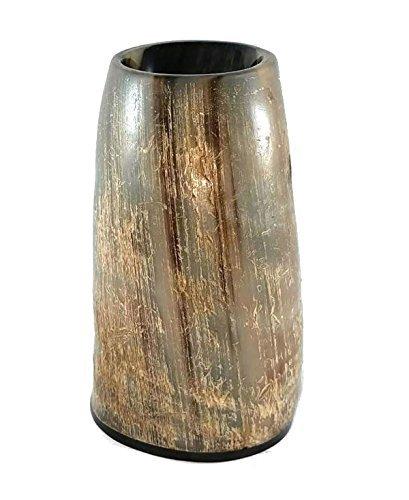 alehorn martillo acabado Natural Cuerno para beber de vaso