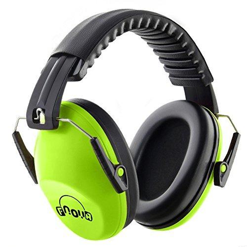 Protector auditivo Niños Protección auditiva de fnova, tamaño ajustable Diadema orejeras para niños, muy ligera y suave Bebé/Kids Ear Muffs gehörschutzes para el fijo Concierto o Fuegos artificiales