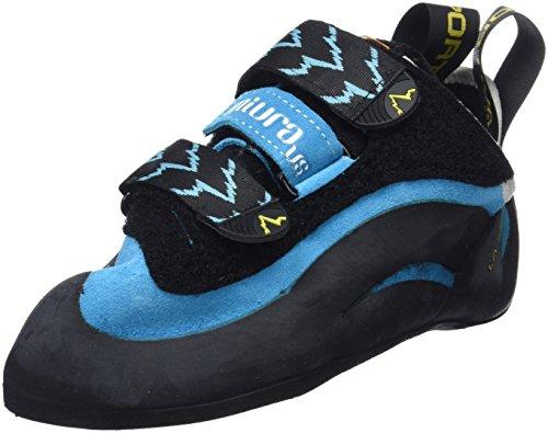 La Sportiva Miura VS Woman, Zapatos de Escalada para Mujer, Azul, 38.5 EU