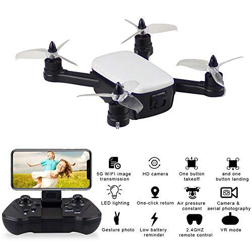 TwoCC Drone Aerei giocattolo per auto telecomando, 913 2.4G Wifi Fpv 5Mp 1080P Hd Telecamera...