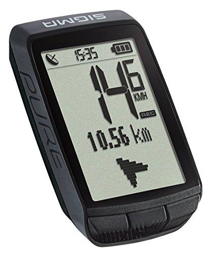 Sigma Sport Pure GPS Unisex, Black, 0