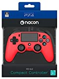 NACON PS4 Controller Color Edition, Rot