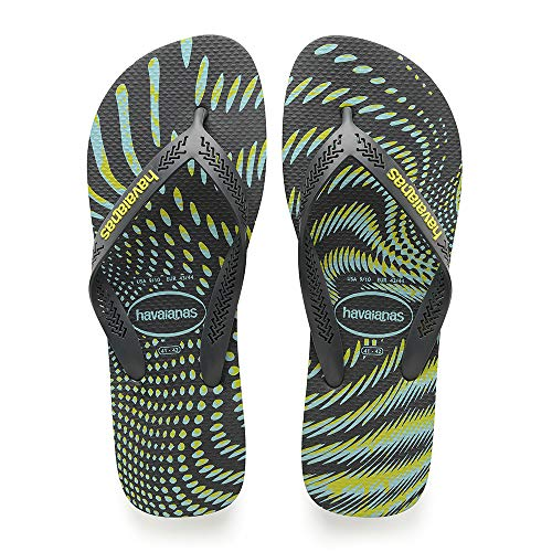 Havaianas Aero Graphic, Infradito Uomo, Multicolore (New Graphite 0074), 41/42 EU
