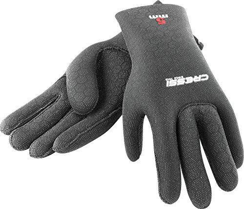 Cressi High Stretch Gloves, Guanti in Neoprene 2.5 mm per Apnea e Immersioni, Unisex Adulto,...