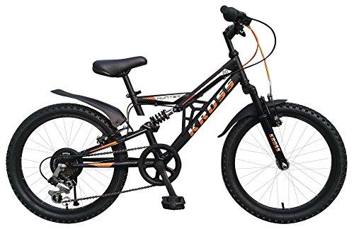 Kross 20T6S Hunter Bicycle, (Matt Black)