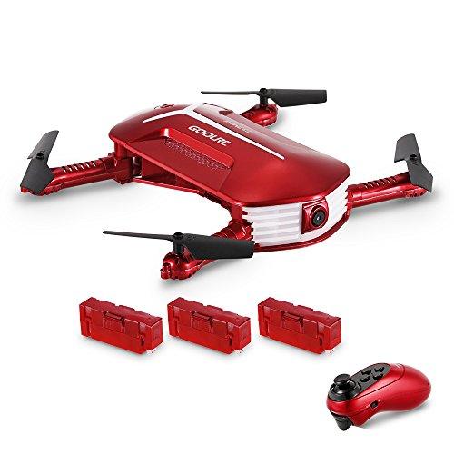 Drone Droni con Camera-GoolRC T37 Mini Telecamera Pieghevole Quadcopter 720P HD FPV Drone UAV...