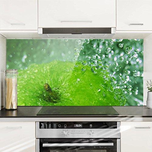 Bilderwelten Paraschizzi in vetro – Green Apple – Orizzontale 1:2 ...