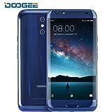 Móviles y Smartphones Libres, DOOGEE BL5000 Moviles Libres Baratos - 5.5 Pulgadas FHD Pantalla - MT6750T Mali-T860 - 4GB RAM + 64GB ROM - 8.0 MP + 13.0MP - Android 7.0 - Dual SIM - Batería de 5050mAh (Azul)