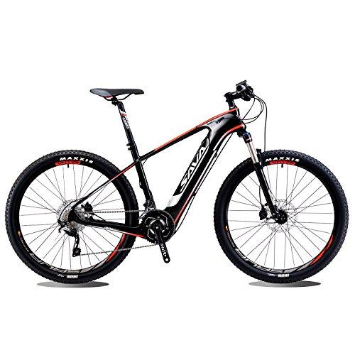 SAVADECK vélo de montagne électrique Fibre de carbone 27.5 pouces...