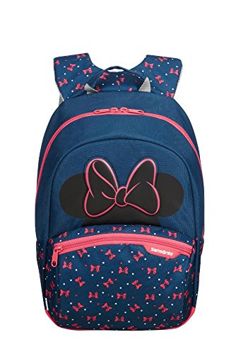 Samsonite Disney Ultimate 2.0 - Zainetto per Bambini S+, 35 cm, 10.5 L, Blu (Minnie Neon)