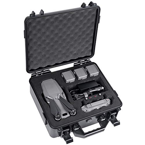 Smatree Custodia rigida impermeabile per DJI Mavic 2 Zoom/Mavic 2 Pro fly more kit (Drone e...