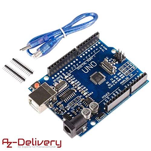 La nuova scheda Arduino Uno R3,  oltre a tutte le caratteristiche delle schede precedenti, ma viene migliorata su molti aspetti di affidabilità e prestazioni.  Questa scheda di prototipazione è basata su chip di più recente costruzione, ed è...