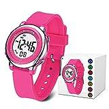 MEETYOO Digitaluhr Kinder, Armbanduhr Jungen Wasserdicht Kinderuhr mit Alarm Uhr Mädchen Stoppuhr für 6-16 Jahre Kind