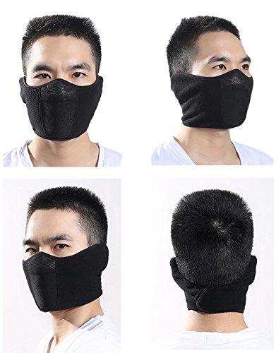 Masque-Demi-pour-Ski-Moto-Hiver-Homme-Femme-Masque-de-Bouche-Nez-Contre-Vent-Froid-en-Polaire-Respirable-Chaud-Epais-Anti-Pollution-Poussire-Taille-Ajustable-Montagnes-Patins-Motards