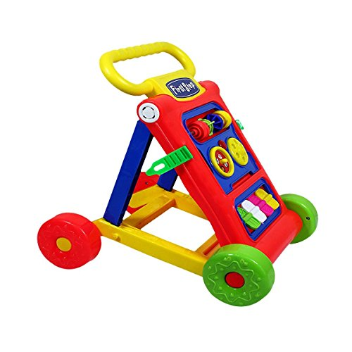 Goyal's My First Step Baby Activity Walker Red - Toddler Learning Toys For 9 months -1.5 Year Old