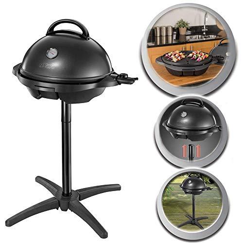 George Foreman 22460-56 Barbecue Grille 2000W Intérieur et Extérieur, 15 Portions