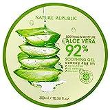 Nature Republic, Aloe Vera Soothing Gel, 300ml, Korean Skincare cosmetics